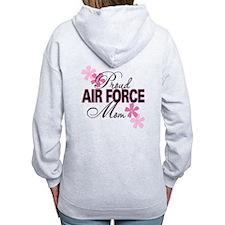 Proud Air Force Sister Zip Hoodie