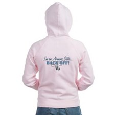 Airmans Sister BACK OFF! Zip Hoodie