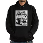 Big Apple Flight Pigeons Hoodie (dark)