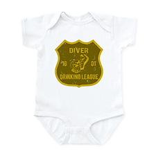 Diver Drinking League Infant Bodysuit