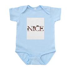 Nice Christmas Ribbon Infant Bodysuit