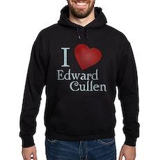 I Love Edward Cullen Dark Hoodie