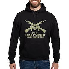 I'm a Lead Farmer Dark Hoodie