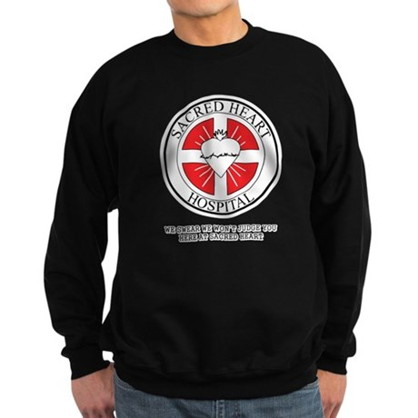 Sacred Heart Hospital Dark Sweatshirt