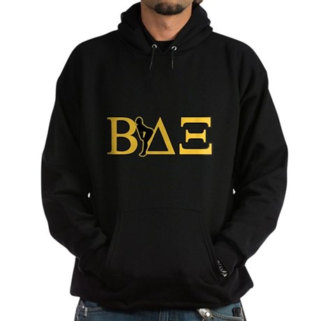 Beta House Fraternity Dark Hoodie