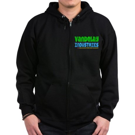 Vandelay Industries Zip Dark Hoodie