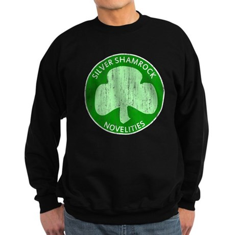 Silver Shamrock Dark Sweatshirt