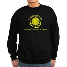 Kazakhstan - We Support Your Sweatshirt (dark)