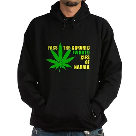 Pass the Chronic-WHUT-cles of Dark Hoodie
