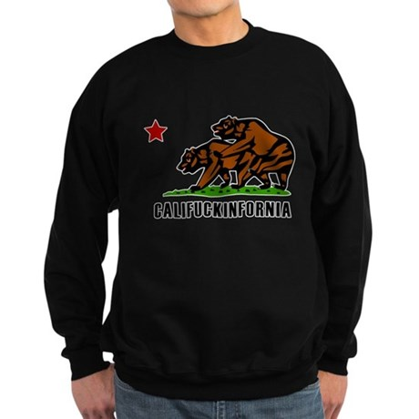 Califuckinfornia Dark Sweatshirt