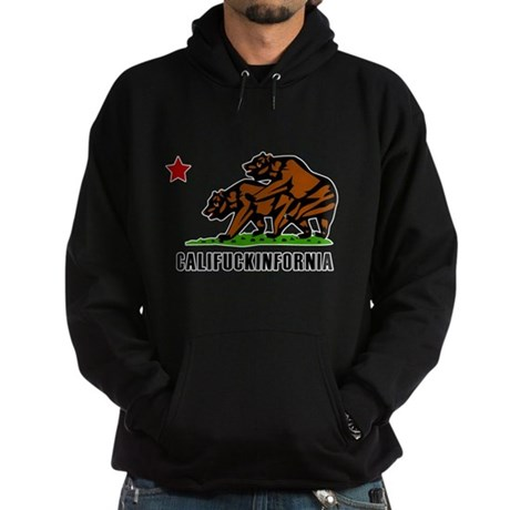 Califuckinfornia Dark Hoodie