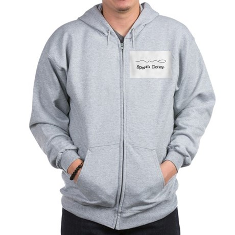 Sperm Donor Zip Hoodie
