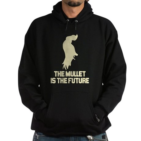 The Mullet is the Future Dark Hoodie