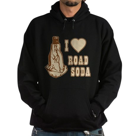 I Love Road Soda Dark Hoodie