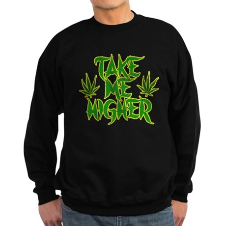 Take Me Higher (Vintage) Dark Sweatshirt