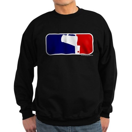Beer Pong League Logo Sweatshirt (dark)