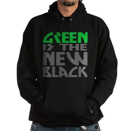 Green is the New Black Dark Hoodie