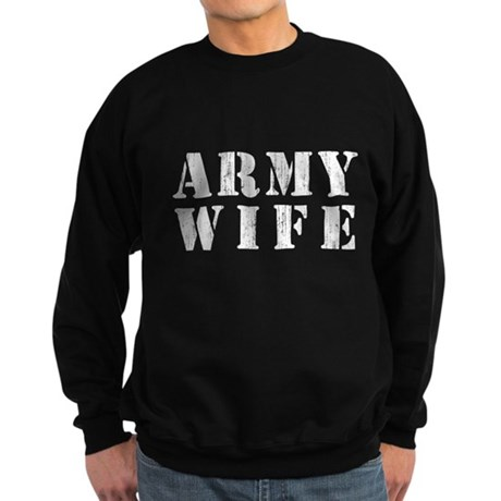 Army Wife Dark Sweatshirt
