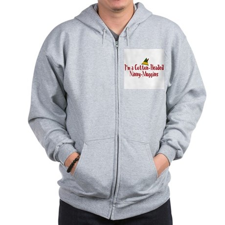 Cotton-Headed Ninny-Muggins Zip Hoodie