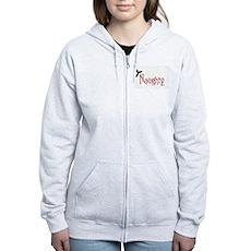 Naughty Womens Zip Hoodie