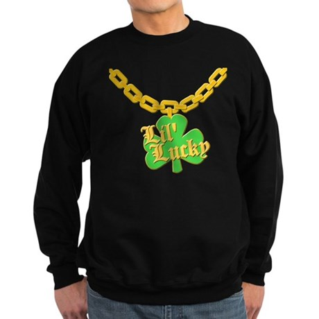 Lil' Lucky Dark Sweatshirt