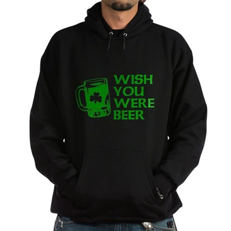 Wish You Were Beer Dark Hoodie
