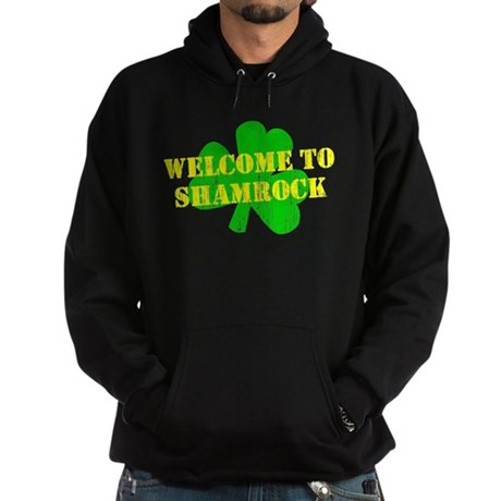 Welcome to Shamrock Dark Hoodie