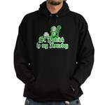 St. Patrick is my Homeboy Hoodie (dark)