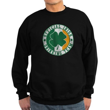 Official Irish Drinking Team Dark Sweatshirt