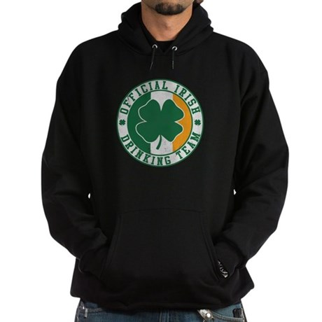 Official Irish Drinking Team Dark Hoodie