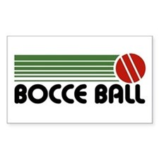 Bocce Ball Rectangle Decal