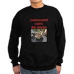 geology gifts t-shirts Sweatshirt (dark)