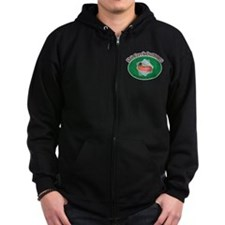 Up Shit Creek Zip Hoodie