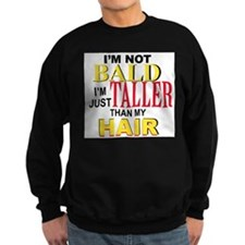 I'm Not Bald Jumper Sweater