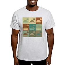 Curling Pop Art T-Shirt