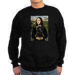 Mona - Affenpinscher3 Sweatshirt (dark)