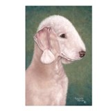 Bedlington (Liver) Postcards (Package of 8)