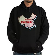 China Map Hoodie