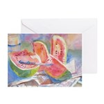 Watermelons Greeting Cards (Pk of 20)