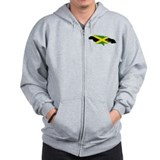 Cool Jamaica Zip Hoody