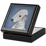 Bedlington (Blue) Keepsake Box