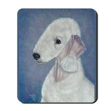 Bedlington (Blue) Mousepad