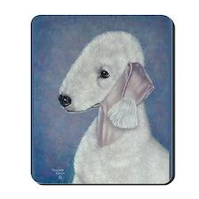 Bedlington (Blue) Mousepad