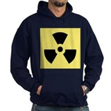 Yellow and Black Hazard Symbo Hoodie