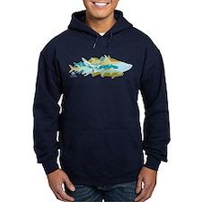 Inshore Fish mosaic - Hoodie