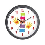 Chiro Hands &amp; Spine Wall Clock