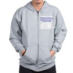 FDR on Peace Zip Hoodie