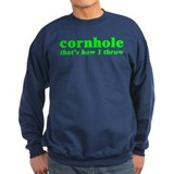 Cornhole Throw Sweatshirt