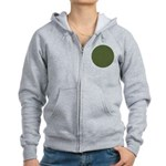 Geranium Leaves Women's Zip Hoodie