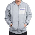 England Zip Hoodie
